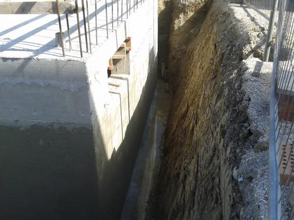 Impermeabilizzazione murature interrate
