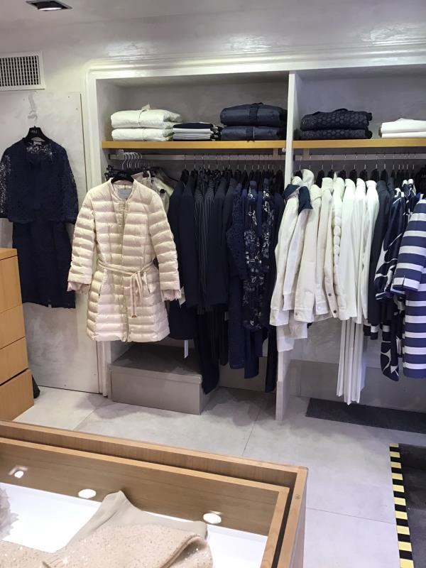 Punto vendita cappotti e piumini
