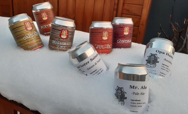 Produzione craft beer