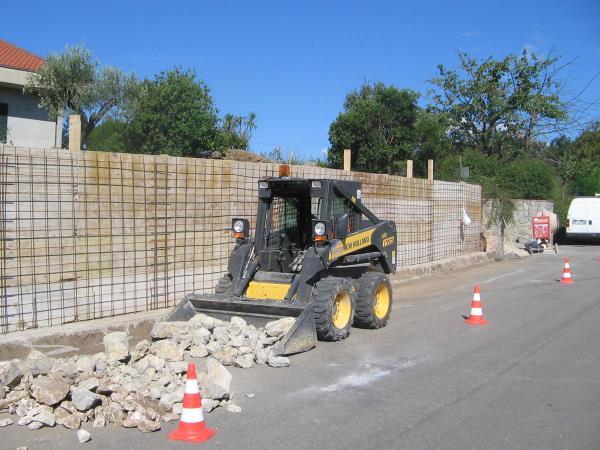 Completamento di una recinzione - San Salvatore Telesino