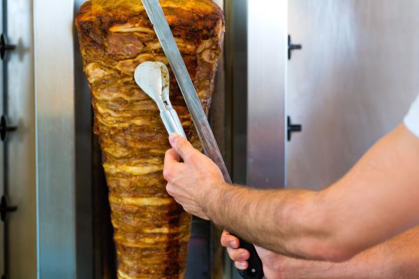 Panini e piadine con kebab