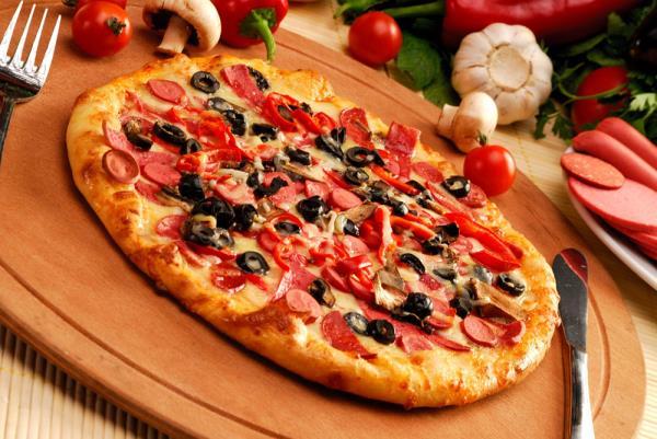 Pizza da asporto e a domicilio