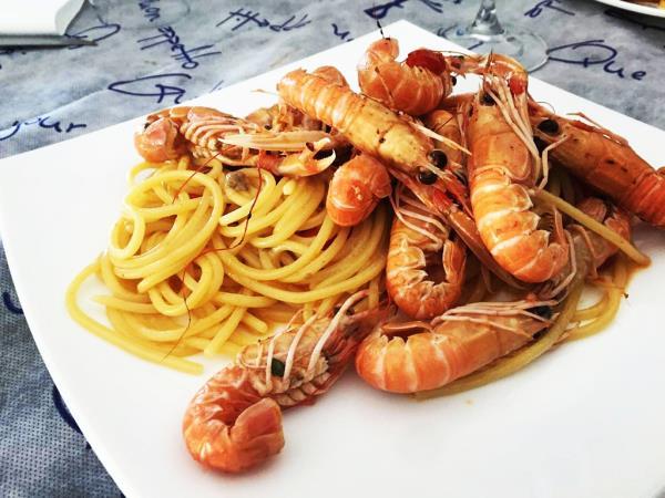 Piatti e specialità di mare
