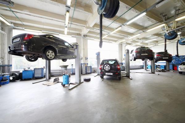 Manutenzione vetture