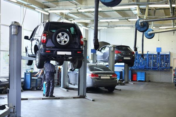 Riparazione e manutenzione mezzi pesanti