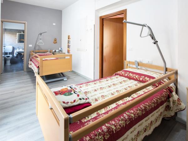 Residenza anziani con camere doppie e singole