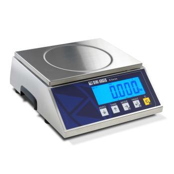Bilance elettroniche da banco in acciaio inox