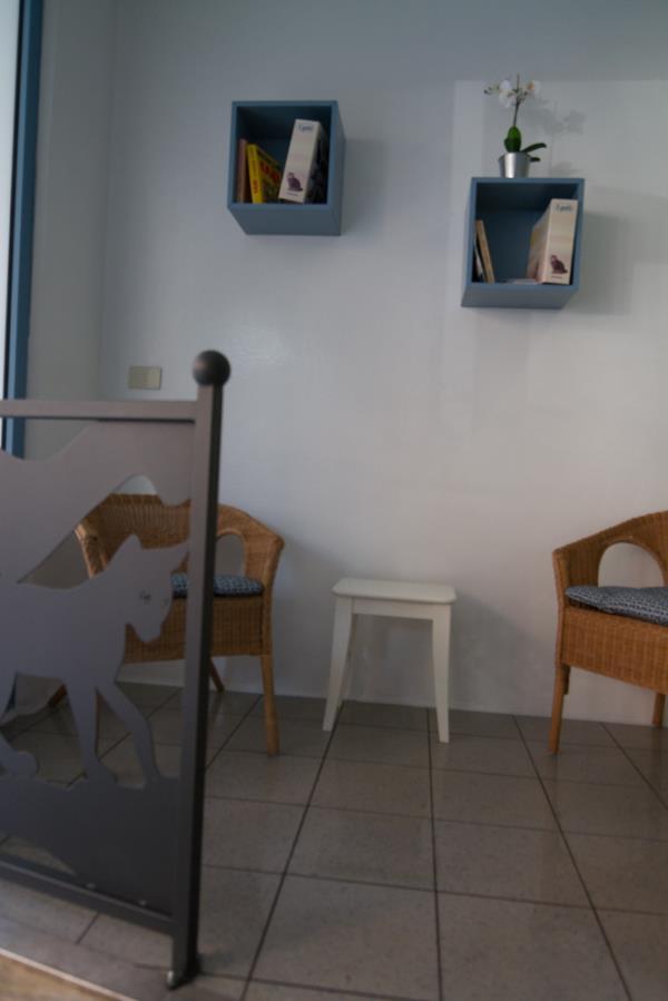 Entrata clinica veterinaria