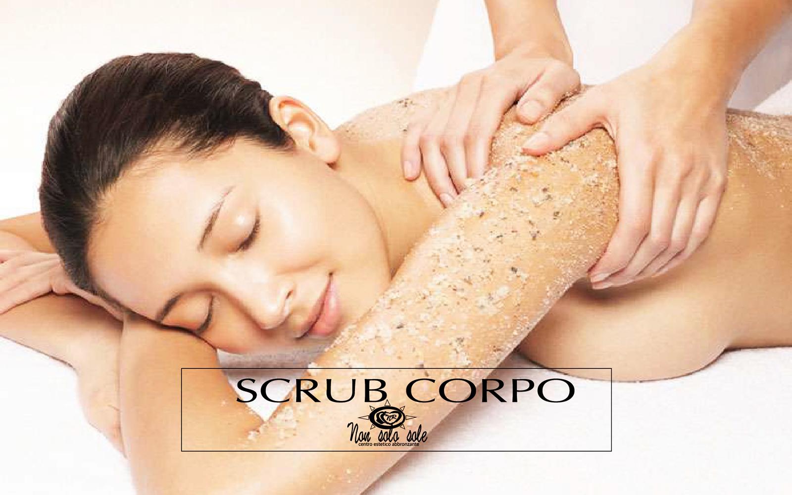 Centro estetico specializzato in trattamenti scrub corpo