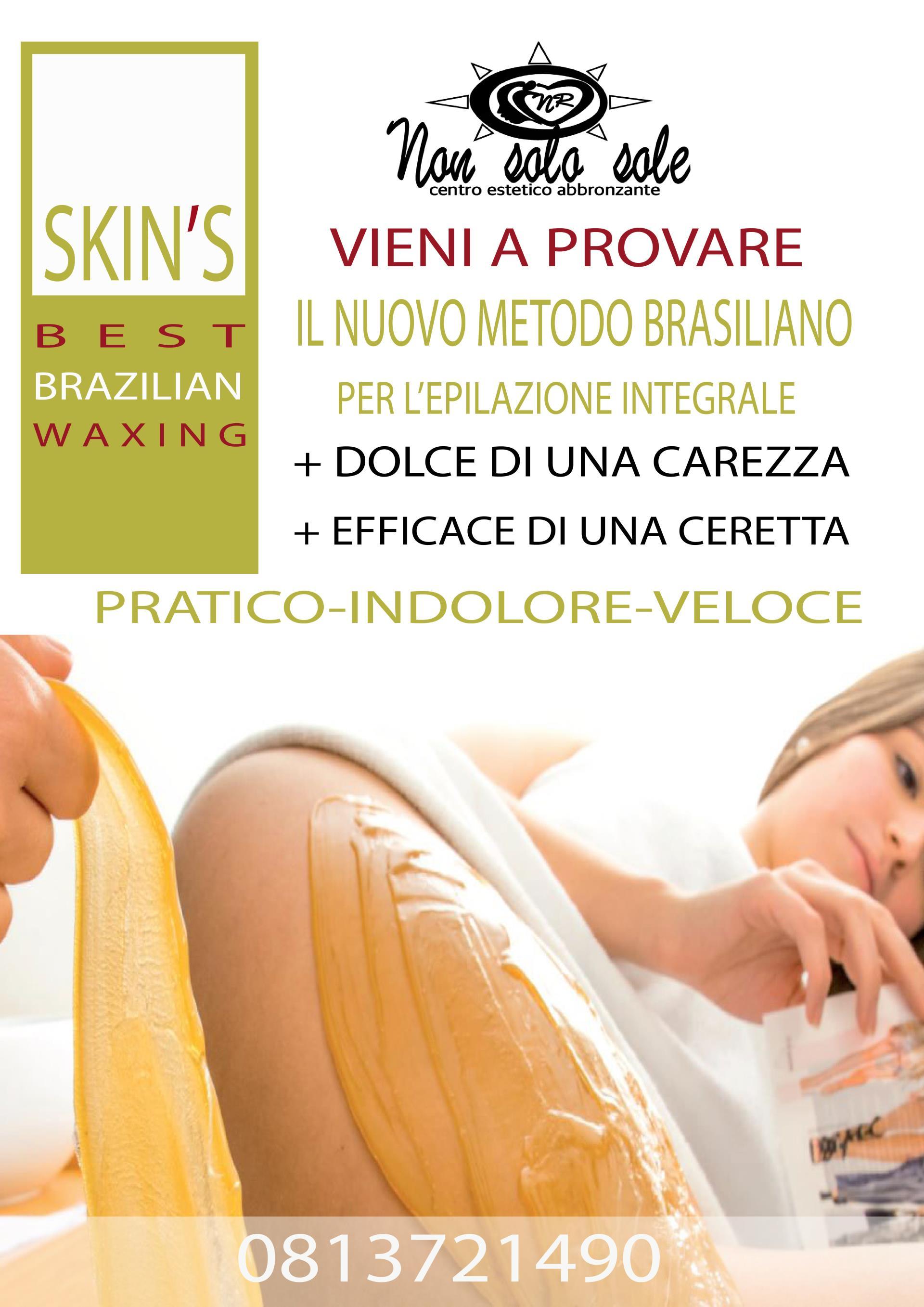 Trattamento cera brasiliana Skin
