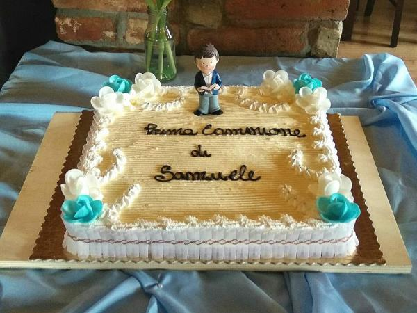 Vendita torte prima comunioni