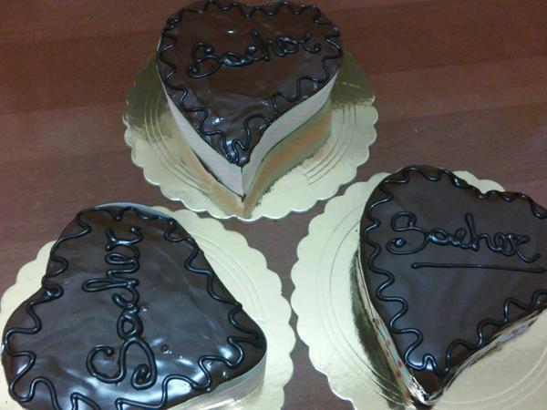 Produzione e vendita torta sacher