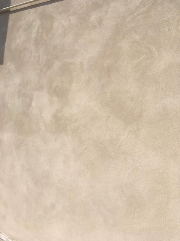 Tecnica velatura con filetto parete