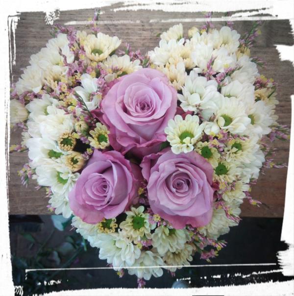 Composizione floreale San Valentino