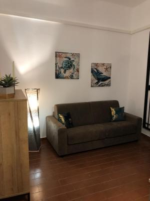 Appartamento per vacanze con divano letto