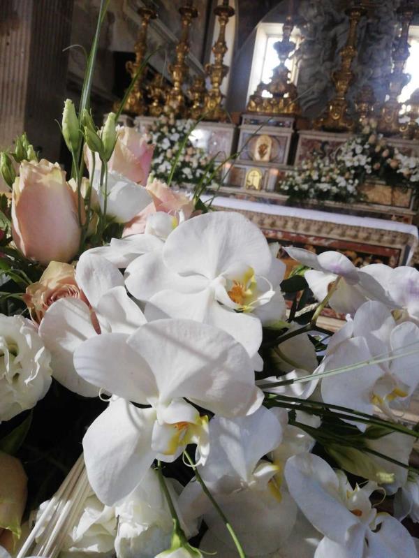 Creazione bouquet sposa