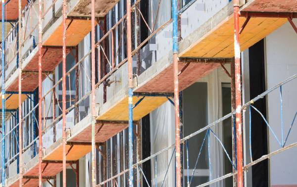 Vendita ponteggi per costruzioni edilizie