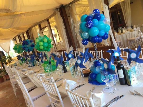 Allestimento location matrimonio
