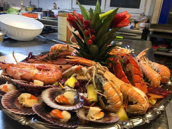 Ristorante con cucina di pesce