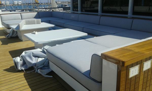 imbottitura sedute yacht e nautica Softyform di Fantacci Gabriella Serravalle Pistoiese