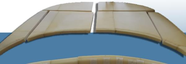 progettazione imbottitura seduta nautica Softyform di Fantacci Gabriella Serravalle Pistoiese