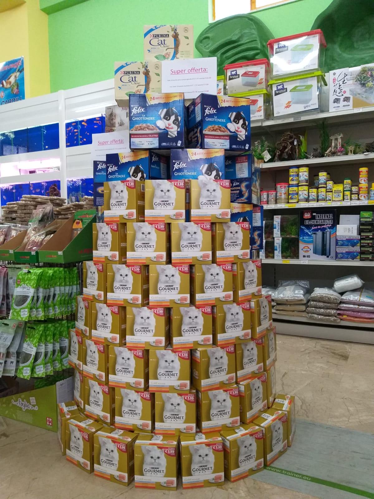Vendita alimenti per gatti Leo Animali Polistena Reggio Calabria
