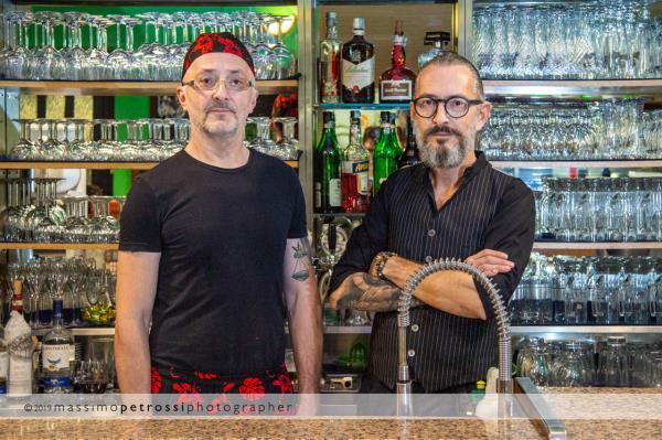 titolari ristorante pizzeria Alla Tappa a Muggia