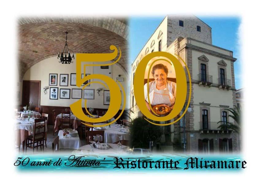 anniversario 50 anni Ristorante Miramare Ortona