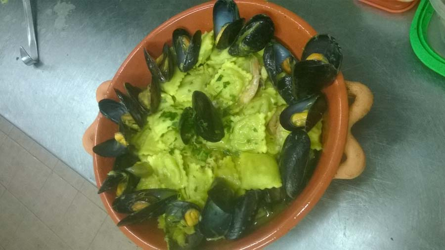 piatti tradizionali pesce Ristorante Miramare Ortona