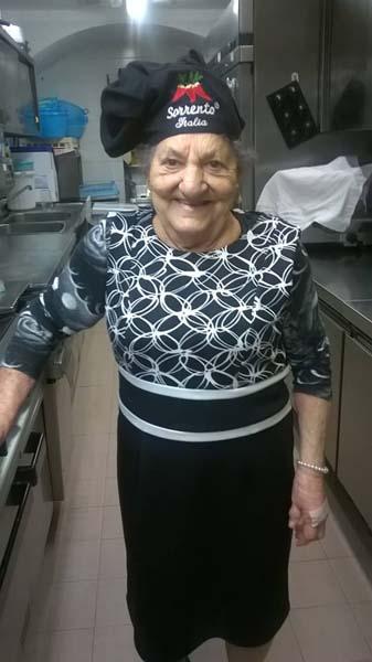 cuoca fondatrice Ristorante Miramare Ortona