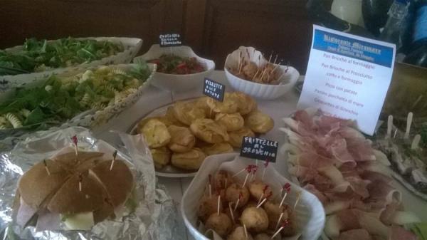 allestimento buffet Ristorante Miramare Ortona