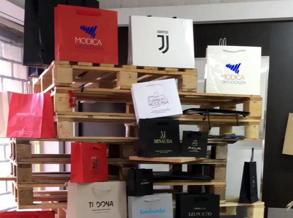 Shopper con brand