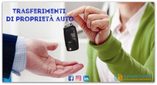 pratiche trasferimento proprietà auto