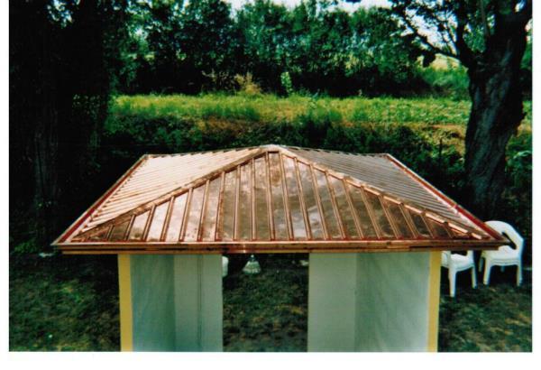 Coperture metalliche per tetti a Parma