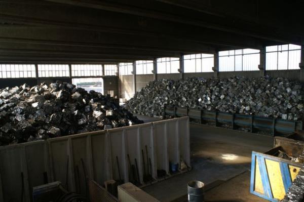 Deposito materiali per fonderie Rotfer Carbognani SRL Parma