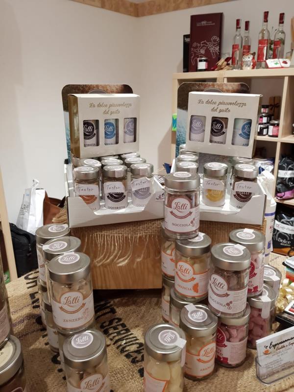 vendita di prodotti dolciari a colleferro
