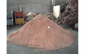 SCRAP COPPER GRANULATE 98% YIELD