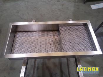 Vasche in acciaio inox e ferro