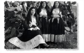 Panno Originale  per Costumi Sardi