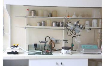 Il laboratorio della farmacia