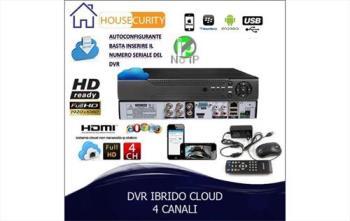 DVR 4 CANALI CLOUD