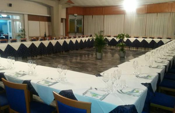 Sala Ristorante Da Saverio a Camerano Ancona