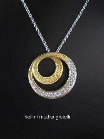 Girocollo Torrini in oro e brillanti