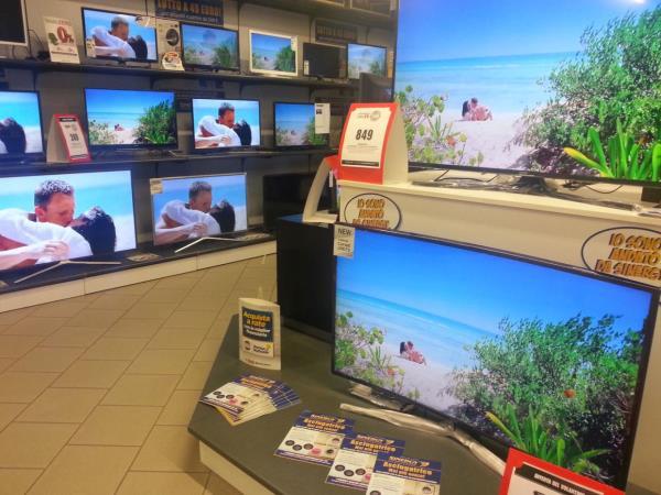 negozio televisori bs