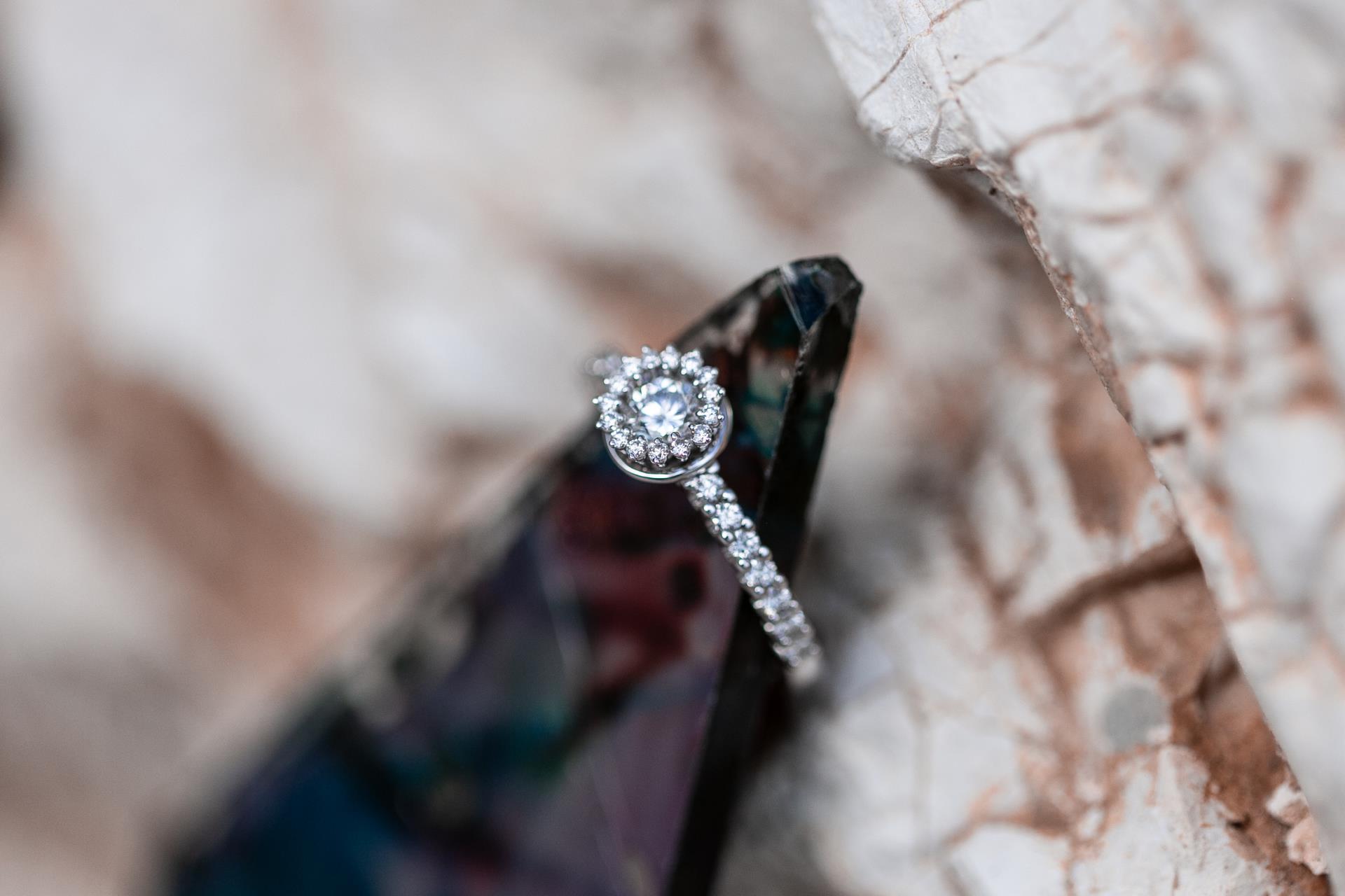 anello solitario diamanti naturali gioielli terni
