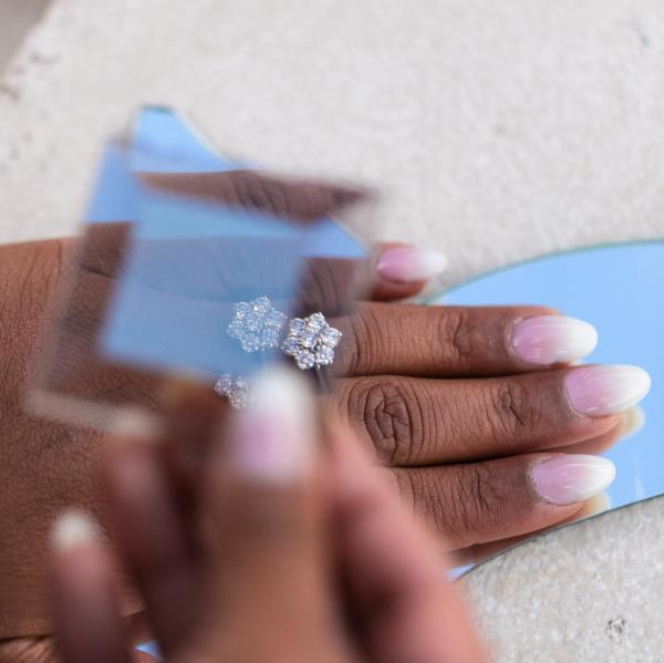 Margherita diamanti naturali gioielli terni