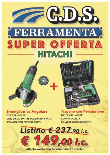 SuperOfferta HITACHI