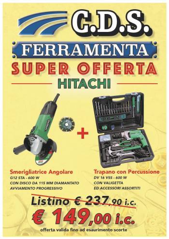SuperOfferta HITACHI