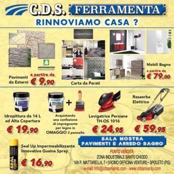 C.D.S. FERRAMENTA RINNOVIAMO CASA?