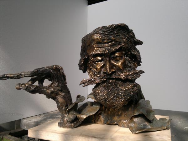 scultura bronzo